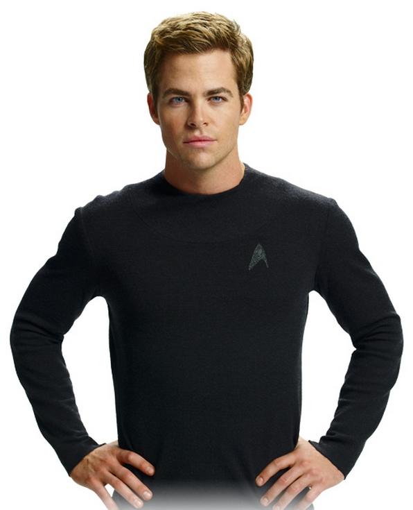 Undershirt nỉ đen dành cho fan của Star Trek