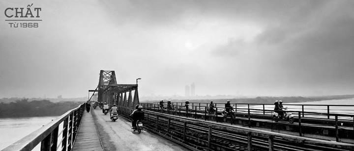 Ảnh: Cầu Long Biên (Nguyễn Thế Quân)