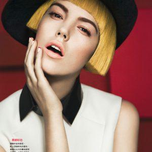 Ảnh của retoucher người Đức Sebastian Reuter cho Vogue Đài Loan.