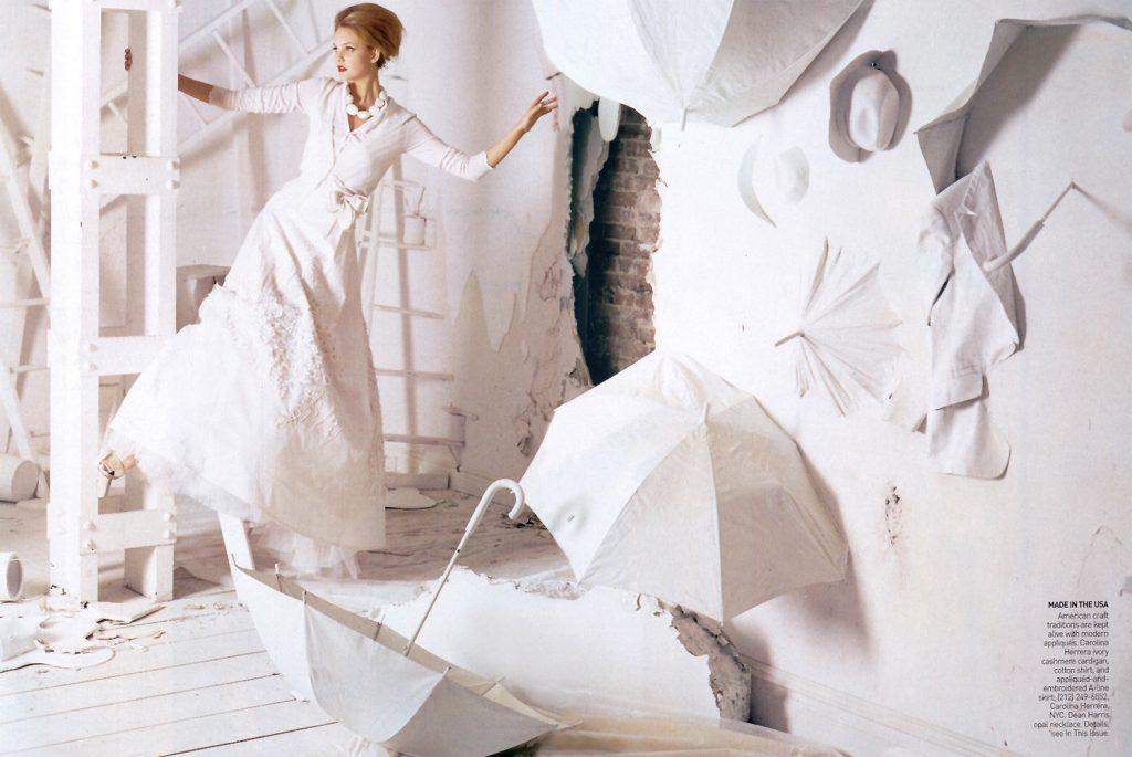 "Bộ ảnh ""The Handmade's Tale"" cho Vogue Australia, số Tháng 2, 2006 cùng Gemma Ward, Caroline Trentini, Lily Cole."