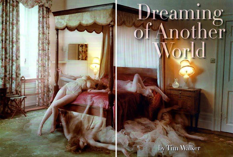 """Bộ ảnh """"Dreaming of another world"""", người mẫu Guinevere van Seenus, Gogue italia, số Tháng 3, 2011."""