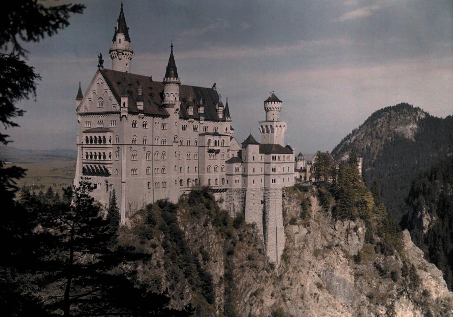 Lâu đài Neushwanstein, Đức, 1925.