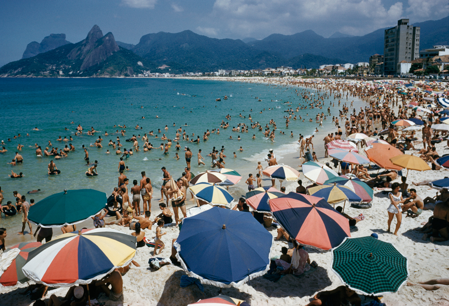 Rio de Janiero, Brazil, tháng Ba, 1955.