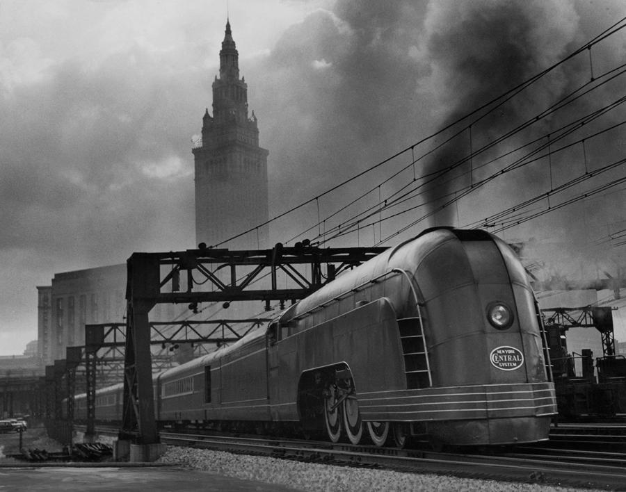 Hệ thống tàu hỏa Mercury những năm 1936 ở Mỹ.