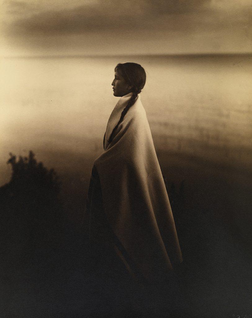 Chân dung cô gái da đỏ Chippewa, 1907.