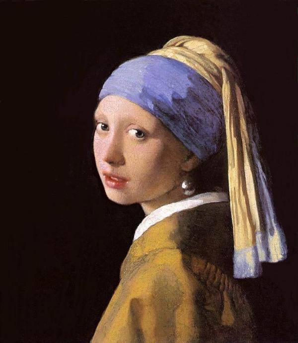 Cô gái với đôi khuyên ngọc trai (The Girl with the Pearl Earring) là bức tranh sơn dầu được Vermeer vẽ vào khoảng năm 1665, hiện được trưng bày tại bảo tàng Mauritshuis ở Den Haag, Hà Lan.