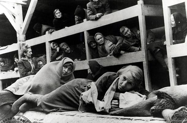 Trại tập trung Auschwitz, 1945 Khu tổ hợp trại tập trung này bao gồm 3 trại chính: Auschwitz I- trung tâm hành chính; Auschwitz II (Birkenau)- Trại hủy diệt (Vernichtungslager) và Auschwitz III (Monowitz)- trại lao động. Ngoài ra còn có khoảng 40 trại vệ tinh, một số nằm cách các trại chính hàng chục cây số, với số lượng tù nhân từ vài tá đến vài nghìn người[1]. Số lượng người đã bị giết chết tại đây chưa được biết chính xác.
