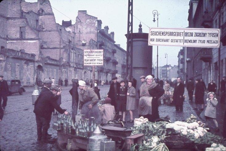 Warsaw bị quân Đức chiếm đóng, 1940.
