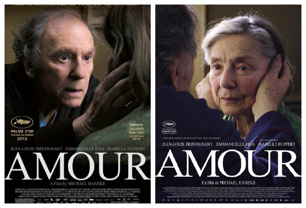 """""""Amour"""" của đạo diễn người Áo Haneke thắng cả Palme d'Or (giải cành cọ vàng) tại Cannes 2012 và phim nước ngoài xuất sắc nhất ở Oscar 2012."""