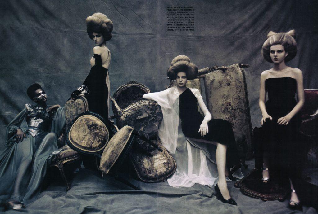 Paolo Roversi chụp cho Vogue Italia.