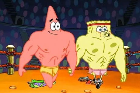 Bạn muốn giống như Patrick hay là SpongeBob?