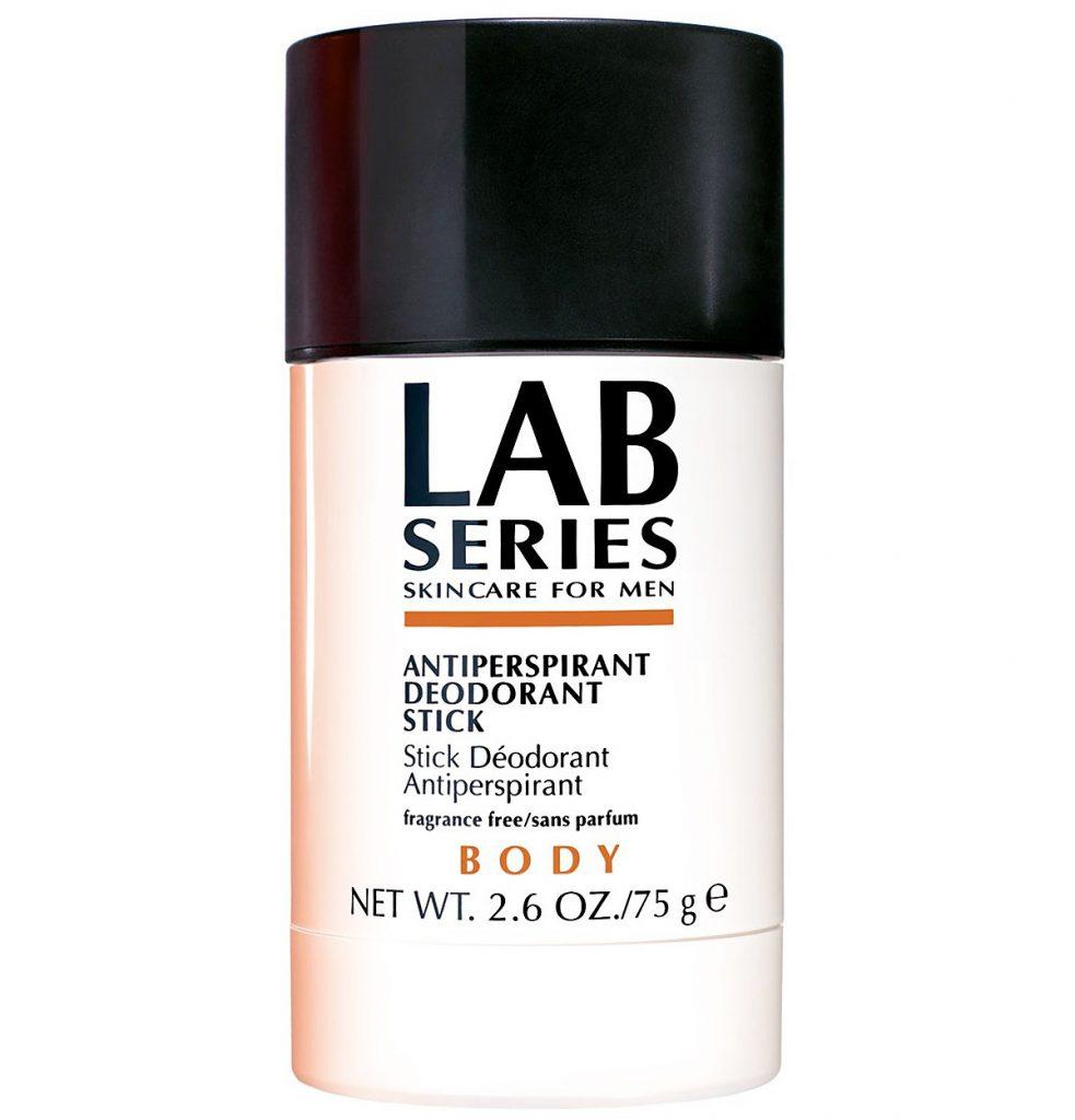 Bên cạnh Sure men Maximum Protection, Lab Series cũng có sản phẩm antiperspirant không mùi và phù hợp cho da nhạy cảm.