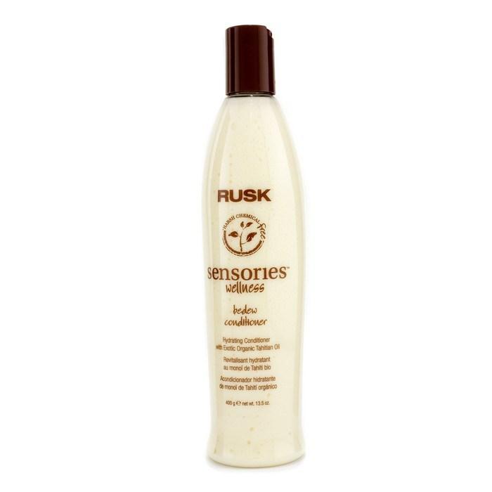 Sản phẩm không thể thiếu cho những ai thích dùng đồ Organic. Chai dầu xả Rusk Sensories Wellness Bedew Hydrating Conditioner 375ml có giá 20$.