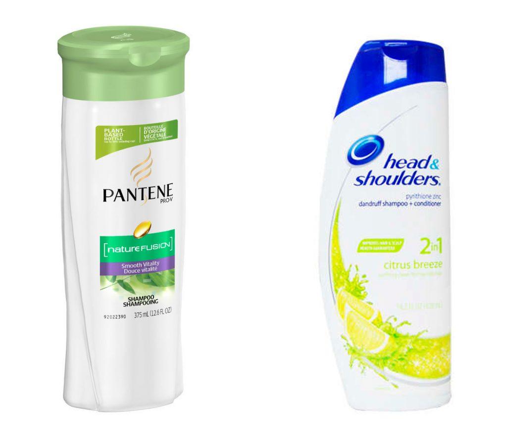 Pantene và Head & Shoulders  là một trong những hãng dầu gội phổ biến, rẻ mà tốt. Chai Pantene Pro-V Nature Fusion Smooth Vitality Shampoo dùng cho tóc khô 375ml chỉ có giá 4$, quá rẻ so với những gì nó mang lại. Cái giá 6$ cho một lọ Head & Shoulders Citrus Breeze Shampoo 400ml không hề tệ với một sản phẩm trị gầu 2-trong-1. Hãy thử nghiệm để biết loại nào tốt nhất cho bạn.