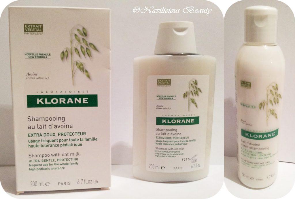 Những ai hay bị ngứa đầu có thể dùng bộ dầu gội và dầu xả có chứa sữa yến mạch của Klorane.