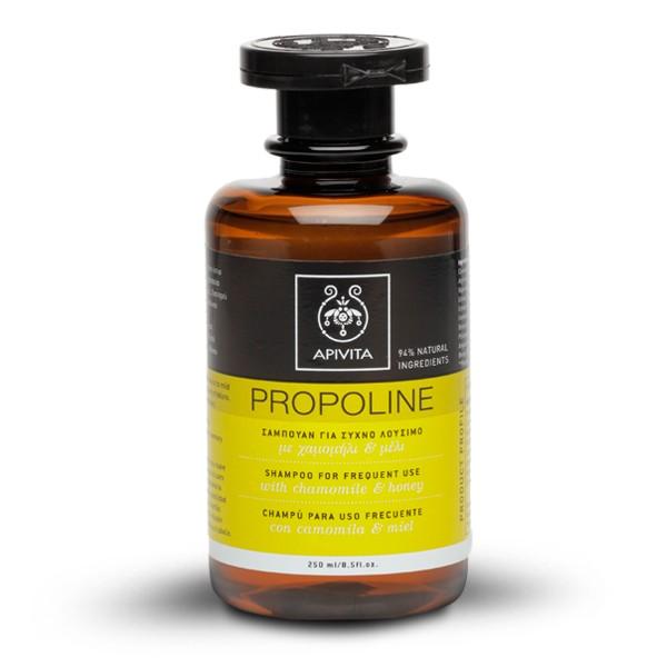 Nếu điều kiện cho phép nên chọn mua các loại dầu gội đầu/dầu xả không có chất tẩy (ammonium lauryl sulfate, sodium lauryl sulfate và sodium laureth sulfate) - chắc phải quá nửa những loại mỹ phẩm tôi liệt kê trong bài này có mấy chất ấy. Đây là các tác nhân làm sạch mạnh nhưng cũng có hại cho tóc và cơ thể. Các loại dầu gội đầu dùng chất tẩy nhẹ thường sẽ tạo ít bọt hơn. Apivita Shampoo for Frequent Use là một trong số ít các loại dầu gội hoàn toàn không chứa hóa chất độc hại. Giá 20$ một chai 250ml.