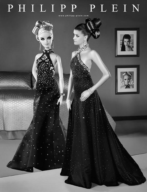 Barbie rất kén chọn, vào ngày sinh nhật thứ 50 của mình tại  Nürnberg, Đức, cô ta đã chọn Philipp Plein, một designer kiêm stylist nổi tiếng. Sự kết hợp giữa thời trang &  Rock´n Roll, Philipp Plein đã lựa chọn loại vải quý Jakob Schlaepfer Haute Couture của Thụy Sĩ. Cùng với đó là sự gia công miệt mài gắn 700 hạt lấp lánh của những người thợ từ Swarovski... Mọi đường nét phải thật kĩ lưỡng, cầu kì để làm hài lòng Barbie.