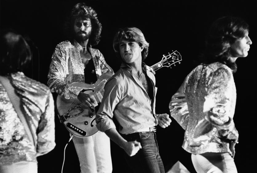 The Bee Gees in Concert at Dodger Stadium