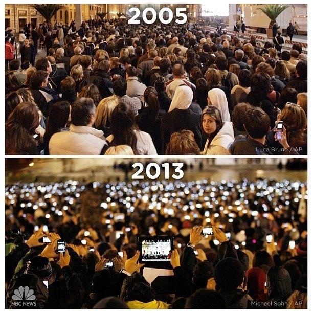 Kỷ nguyên của điện thoại và máy tính bảng.