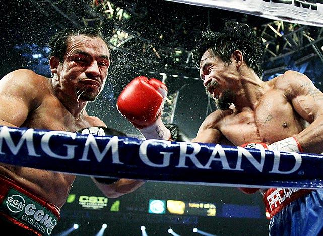 Manny Pacquiao,siêu võ sĩ ngườiPhilippineslà bậc thầy về di chuyển cũng như tốc độ trong boxing.