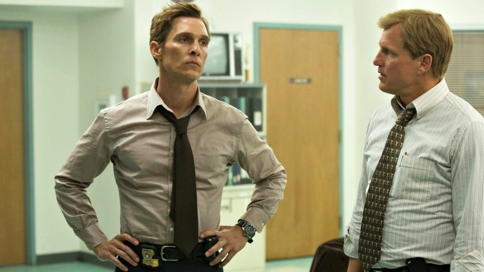 Thanh tra Rust Cohle (Matthew McConaughey) và thanh tra Marty Hart (Woody Harrelson) - True Detective.