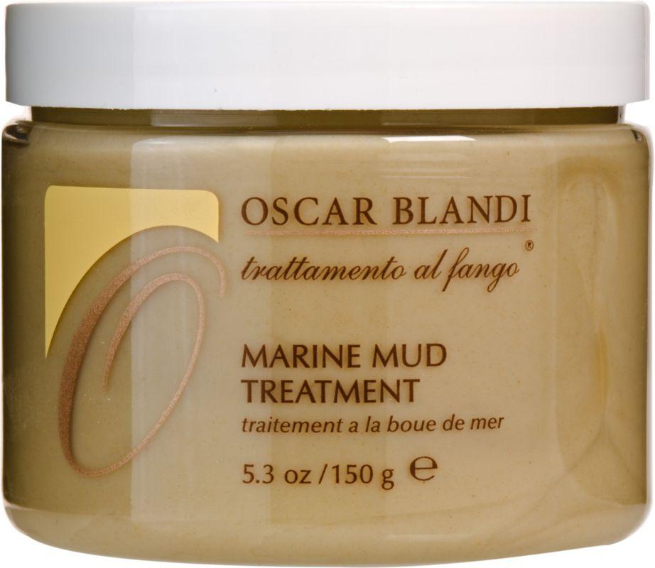 Oscar Blandi Marine Mud Treatment là một sản phẩm không thể bỏ qua của những người thích dùng đồ Organic với các thành phần chính như bùn, khoáng chất, protein yến mạch... Giá 27$ cho một lọ 150g. Dùng một tuần một lần, mỗi lần khoảng 15 phút.