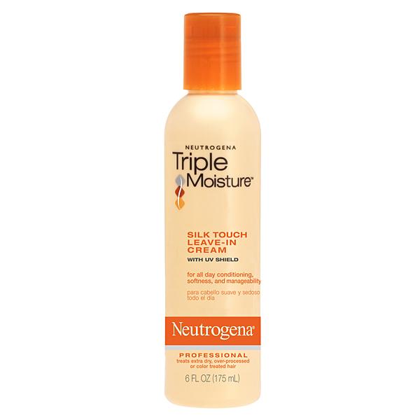 Thêm một sản phẩm rẻ tiền mà tốt khác. Có điều không phải xịt mà là dạng kem. neutrogena triple moisture silk touch leave-in cream, giá 7$ cho một chai 175ml.