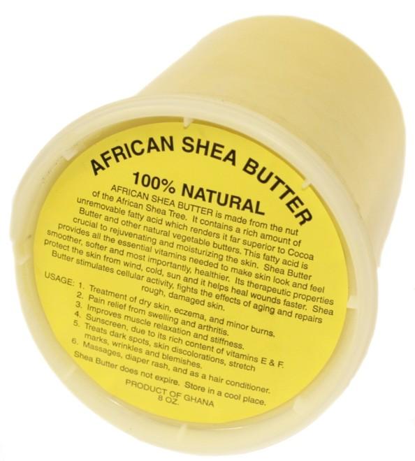 Shea Butter nguyên chất 100%.
