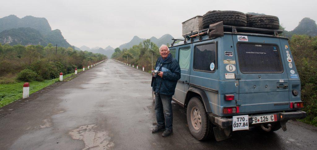 Gunther ở Việt Nam.