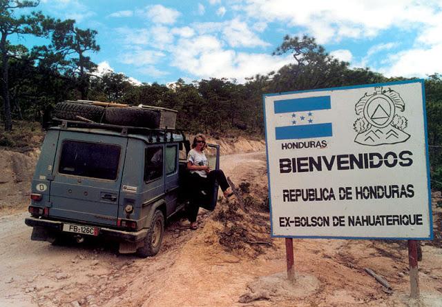 Tại biên giới Honduras - Nicaragua.
