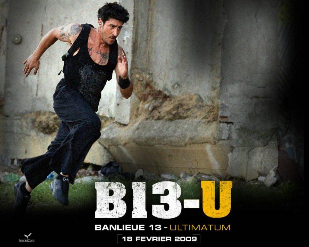 """David Belle trong phim """"Quận 13"""""""