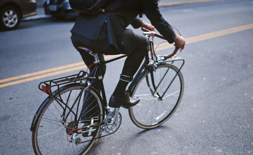 Một bộ Commuter Suit của hãng Parker Dusseau.