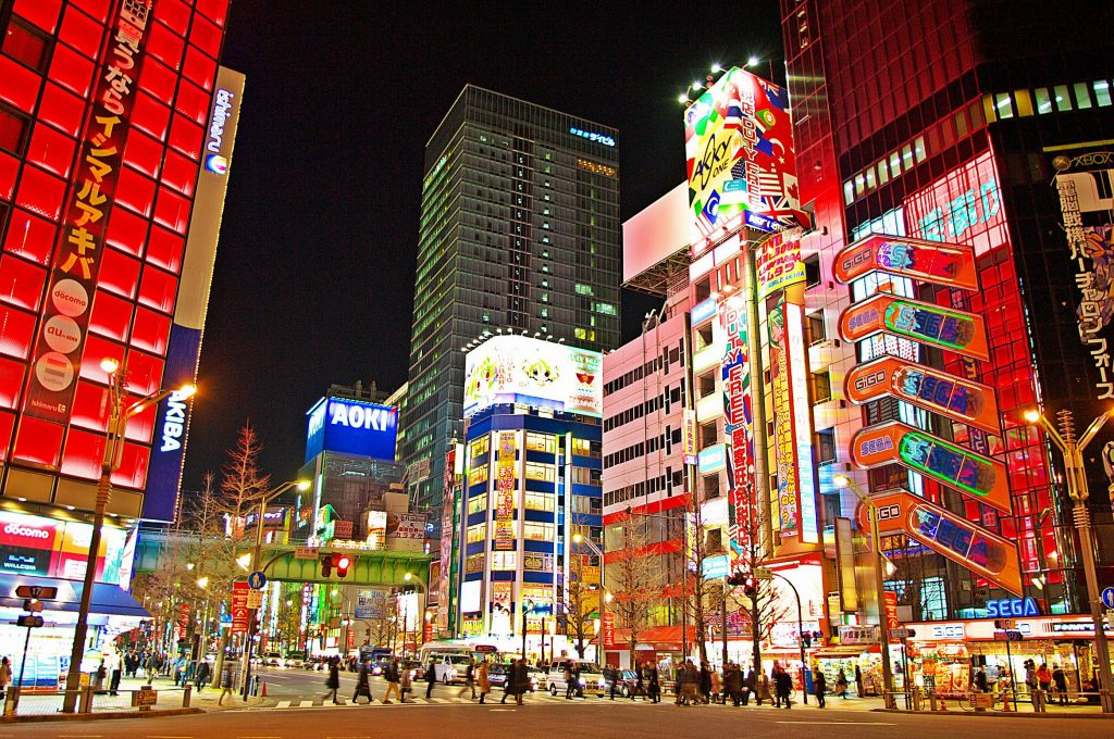 Kết quả hình ảnh cho Shopping tại phố điện tử Akihabara.