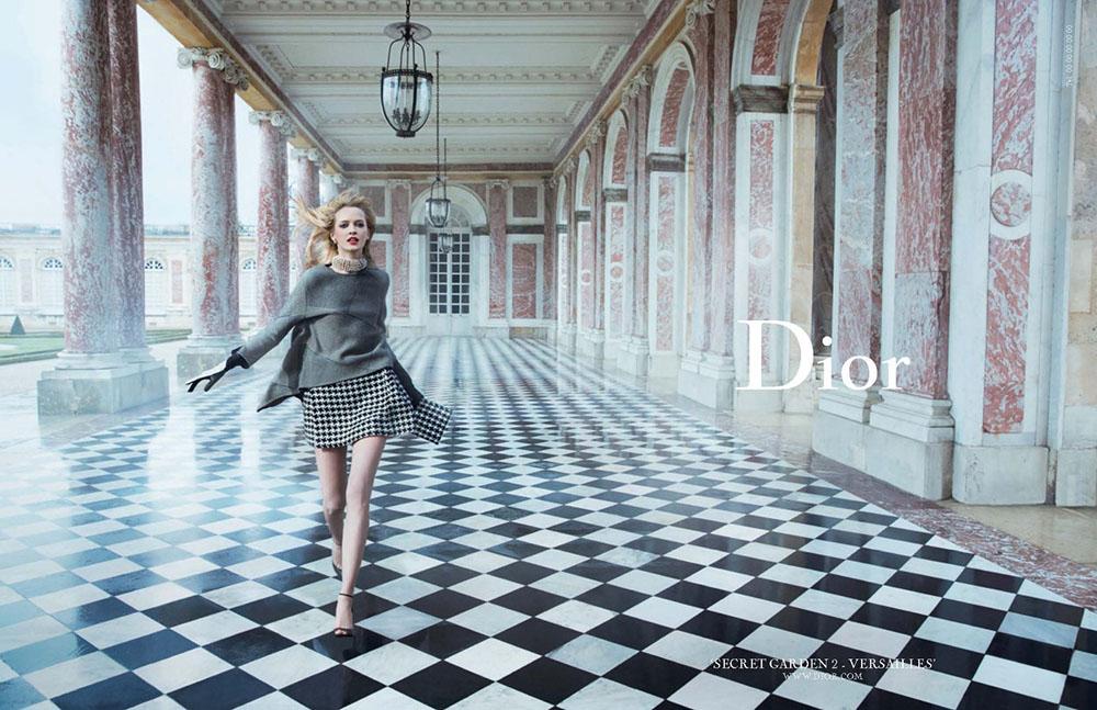 "Campaign ""Secret Garden"" phần II cho Dior."