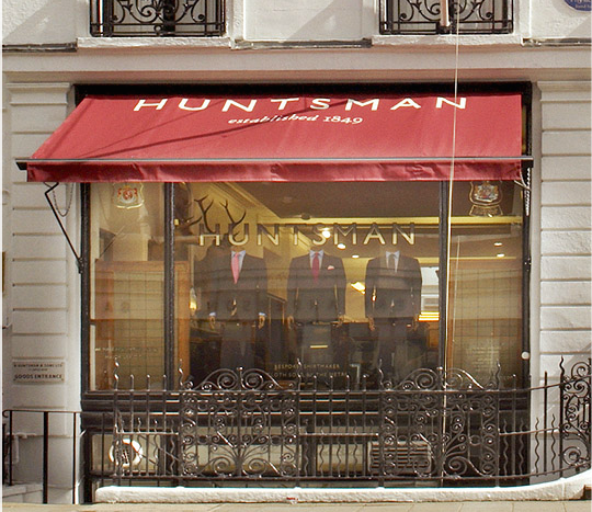 Huntsman - số 11 Savile Row, London W1S 3PS