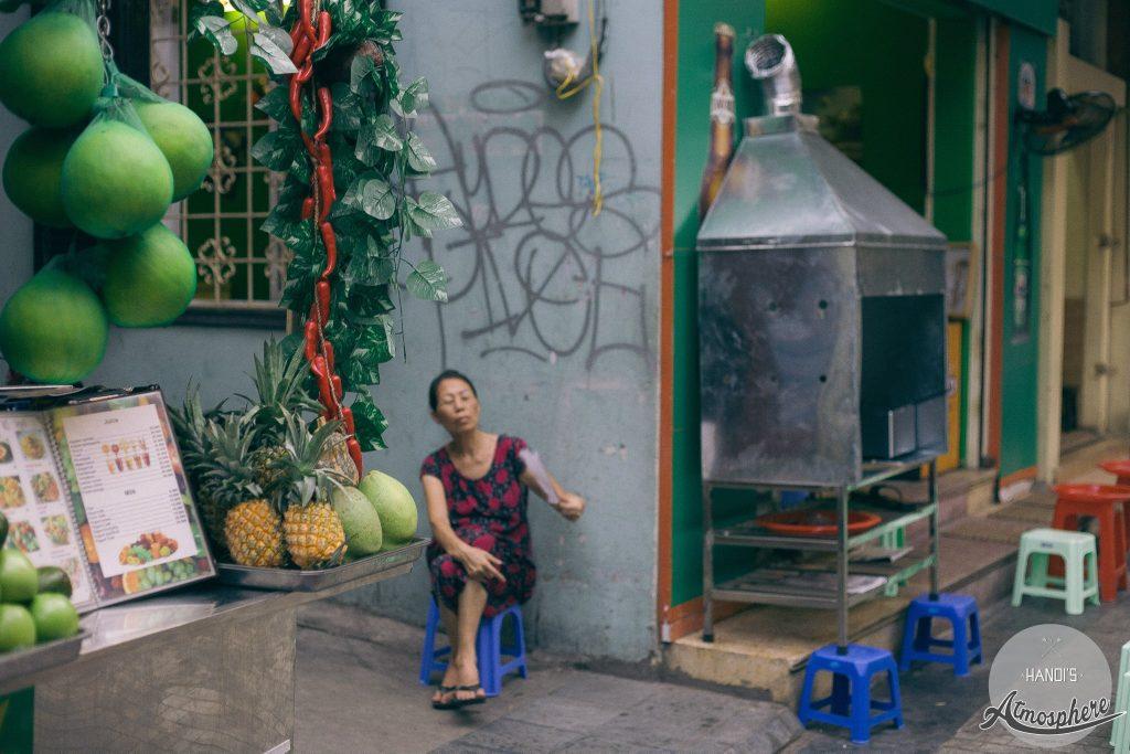 Tạ Hiện 2014. Ảnh: Hanoi's atmosphere