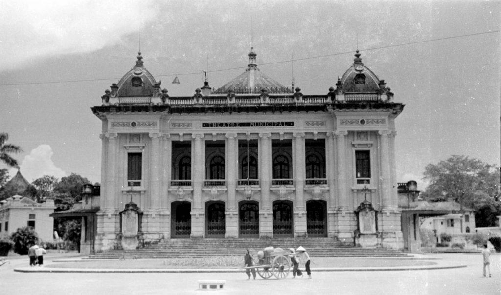 Hà Nội 1940. Nhà hát lớn Hà Nội.