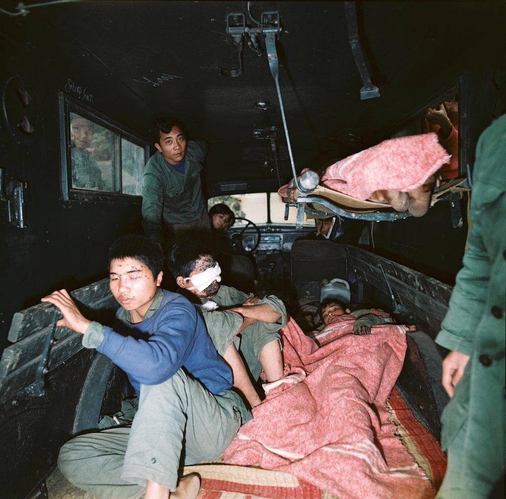 Chiến tranh Việt Trung 1979. Ảnh: Thomas Billhardt