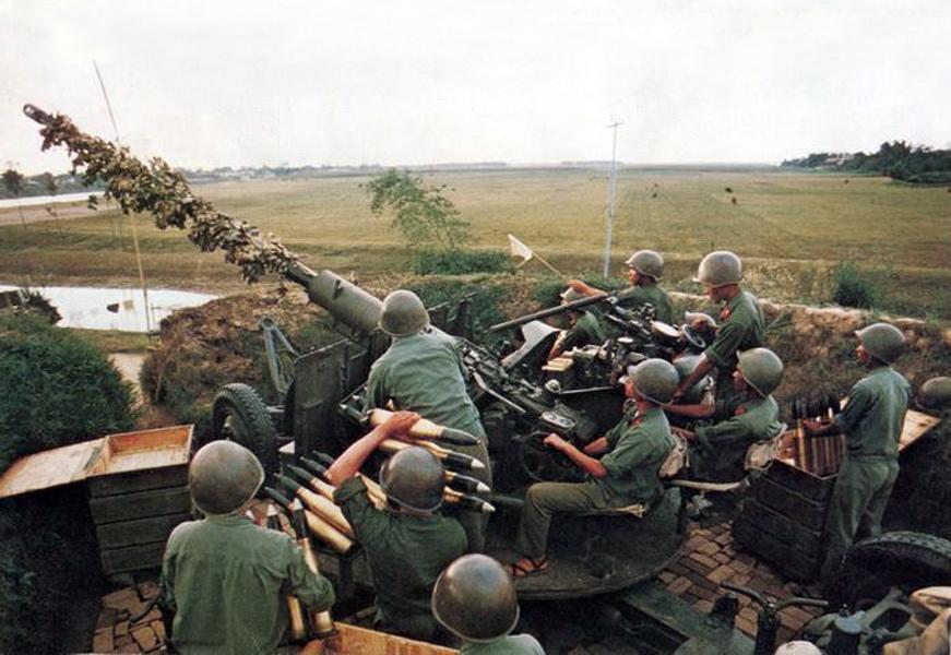 Hải Phòng 1972 - Trung đội cao xạ số 5.
