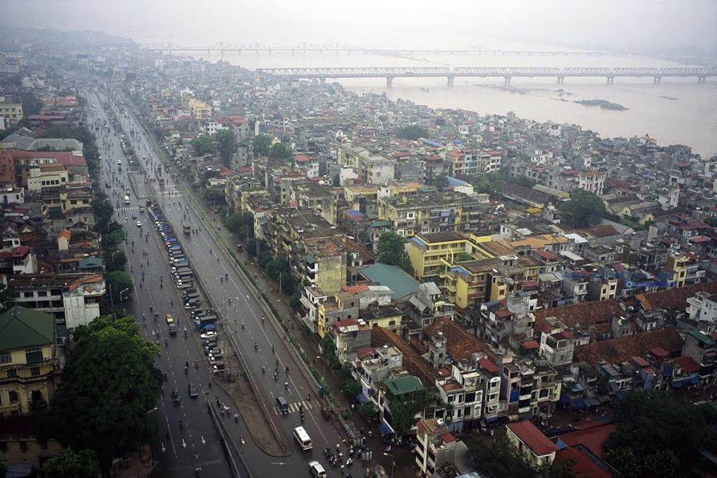 Hà Nội ảnh chụp từ trên không, 2004. Ảnh: David Alan Harvey