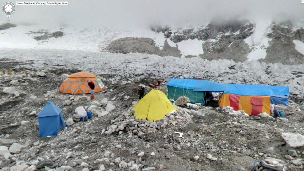 Trạm dừng chân phía Nam trên đường lên đỉnh Everest ở Khumjung, Nepal được chụp tháng 2/2013.