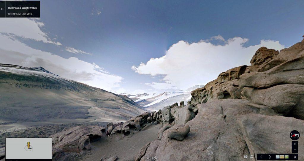 Thung lũng Wright ở Nam Cực.