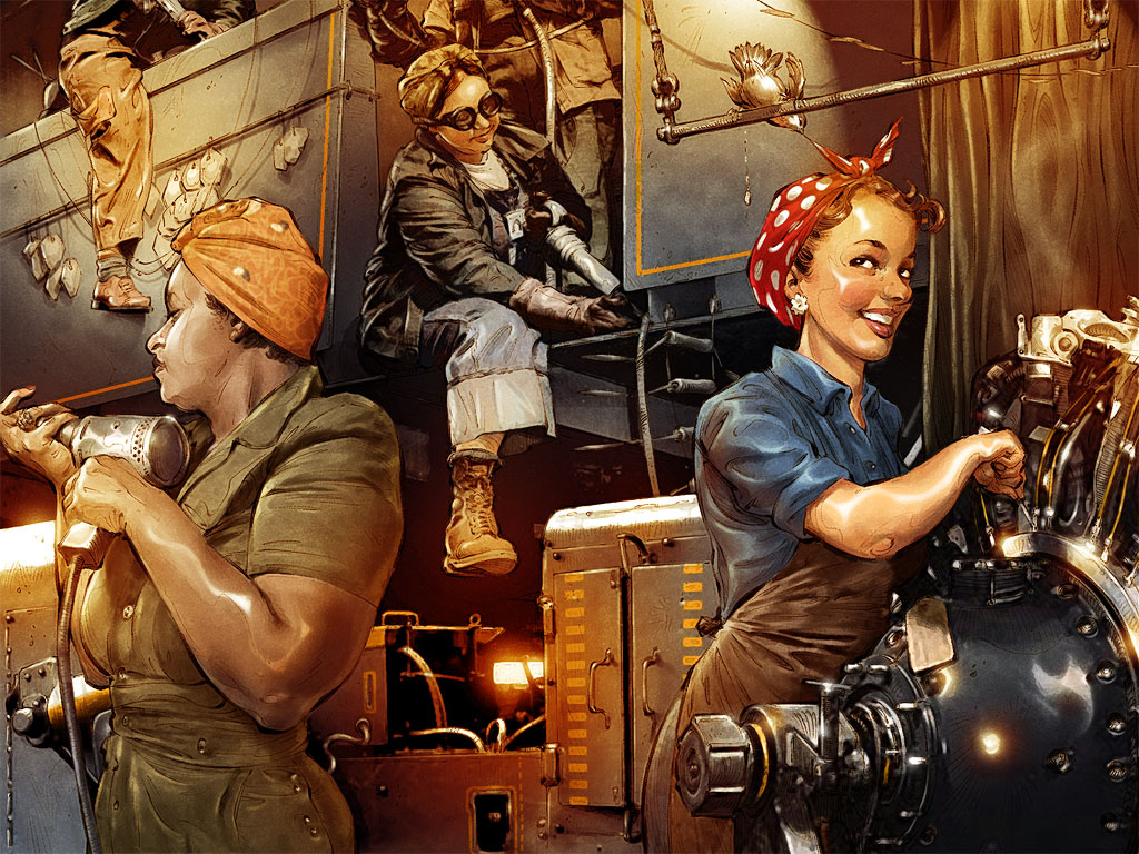 Rosie_the_Riveter_by_TamasGaspar