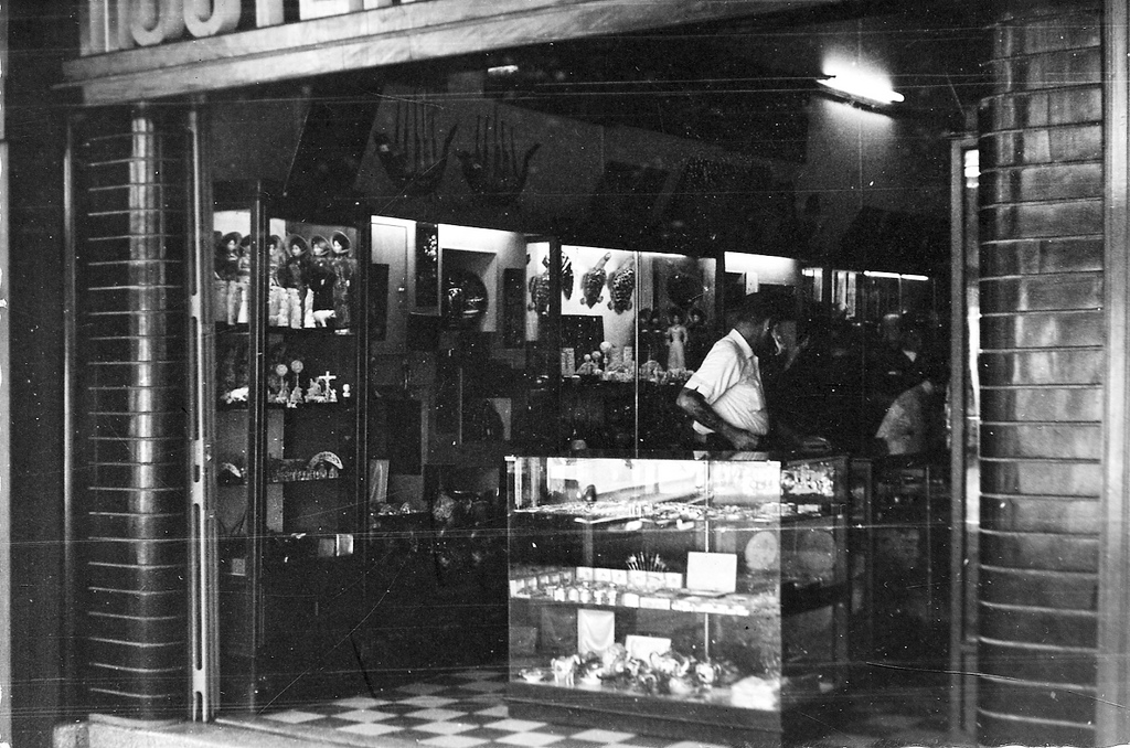 Chinese shop - Saigon 1966 va049590 Donald F. Harrison Collection - Vietnam Center and Archive