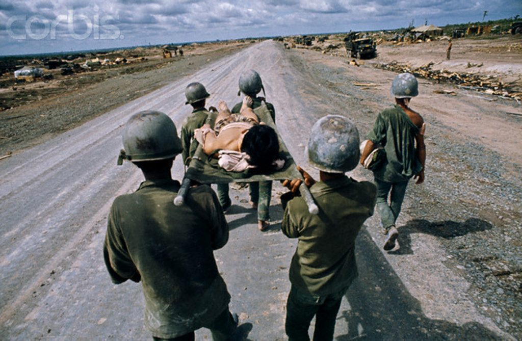 april-July 1972, An Loc, Vietnam --- South Vietnamese forces during the battle of An Loc. --- Image by © Patrick Chauvel/Sygma/Corbis
