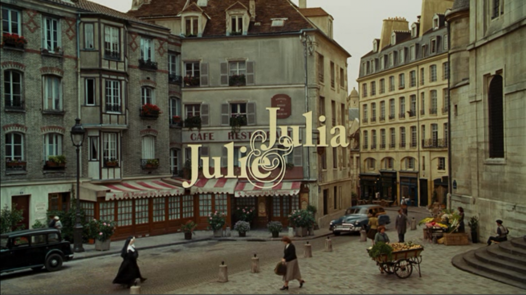 Julie and Julia Title Card
