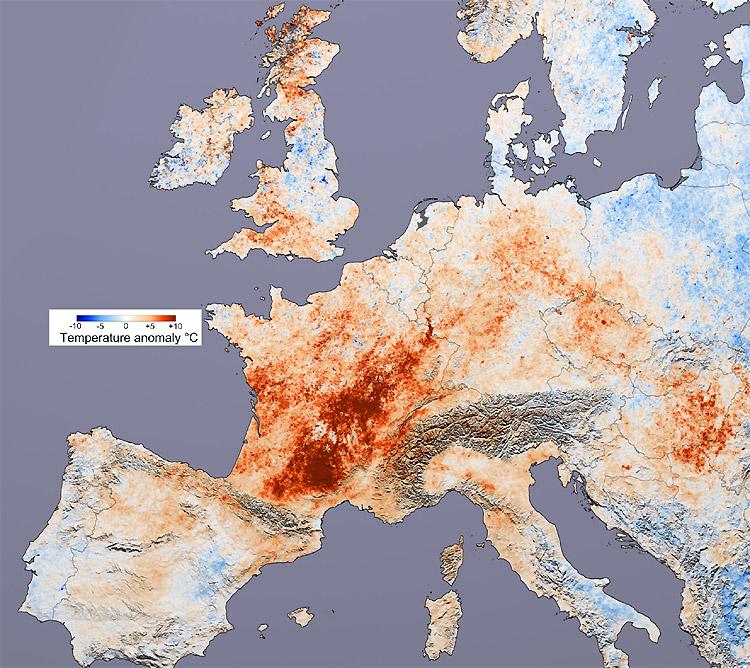 2082. Nắng nóng kéo dài ở châu Âu khiến nhiều nơi nhiệt độ lên đến 50 độ C. Giai đoạn này cũng đánh dầu hồi kết của nông nghiệp kiểu truyền thống ở châu Âu.