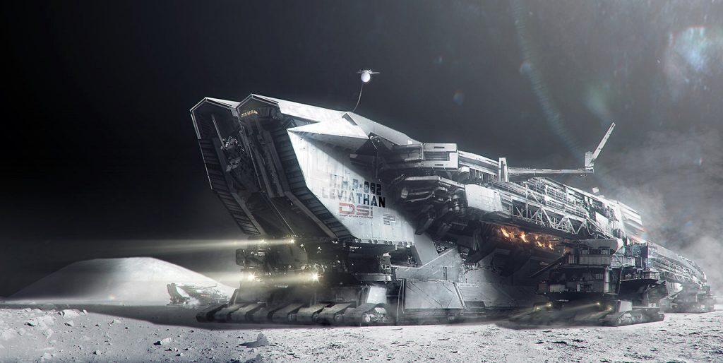 2061. Khai thác quặng tự động trên mặt trăng, một trong số đó là Helium-3, một nguyên tố quan trọng dùng trong lò phản ứng nhiệt hạch, cực hiếm trên Trái Đất nhưng dư thừa trên Mặt Trăng. Một tàu con thoi chứa đầy Helium-3 dùng đủ cho phản ứng nhiệt hạch cung cấp năng lượng cho cả một quốc gia trong một tháng.
