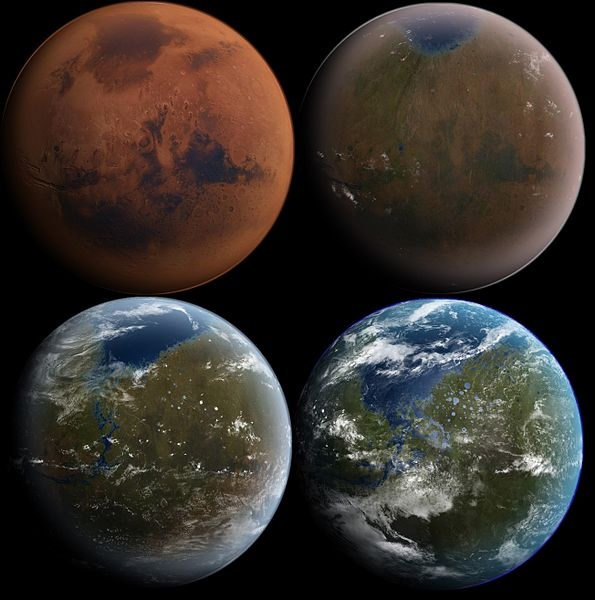Năm 2500, Sao Hỏa đã được địa khai hóa (terraforming) 100%.