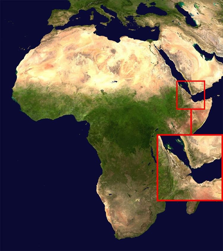 2020: Trung Đông và châu Phi được nối liền bằng chiếc cầu xuyên lục địa với chiều dài 29km qua Biển Đỏ, nối liền Yemen và Djibouti.